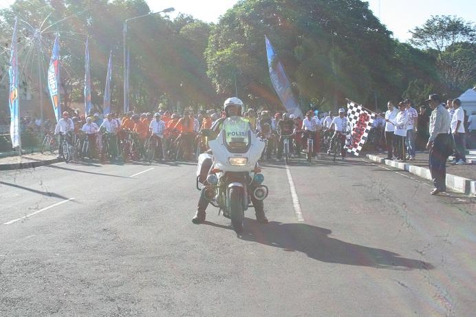 Sepeda Sehat dalam rangka HUT Kabupaten Cirebon ke 530
